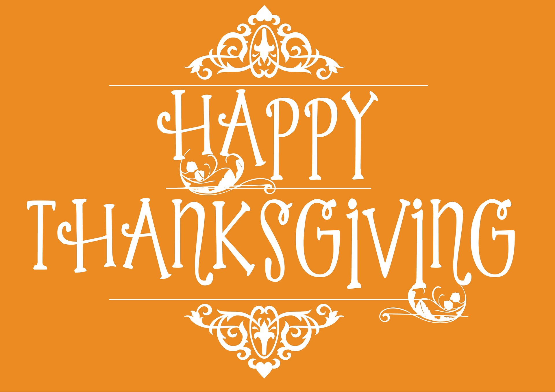 Happy Thanksgiving and Giving Thanks